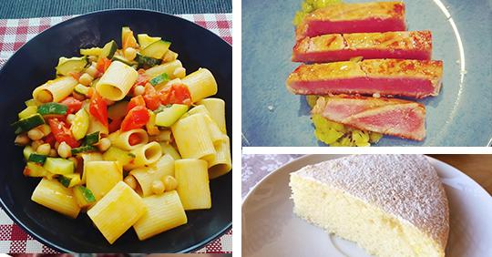 Alimentazione -Tre ricette light per tenerci in forma